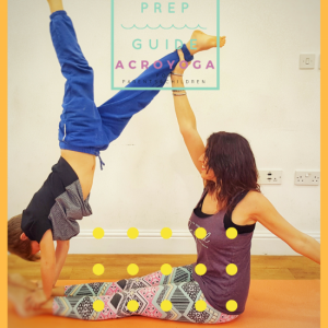 Acro Yoga Sequence Prep Guide for Parents and Children