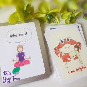 Yoga cards in Tin