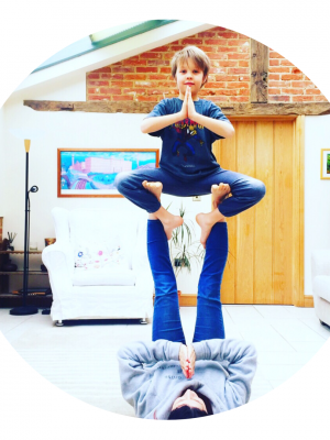Acro Yoga for Parents and Children